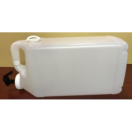 12L bottling container with tap