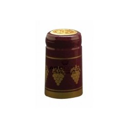 Burgundy Shrink cap