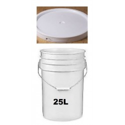Pail 25L with cover