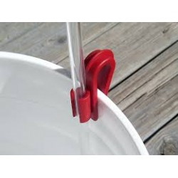 Red clip to hold racking tube 5/16